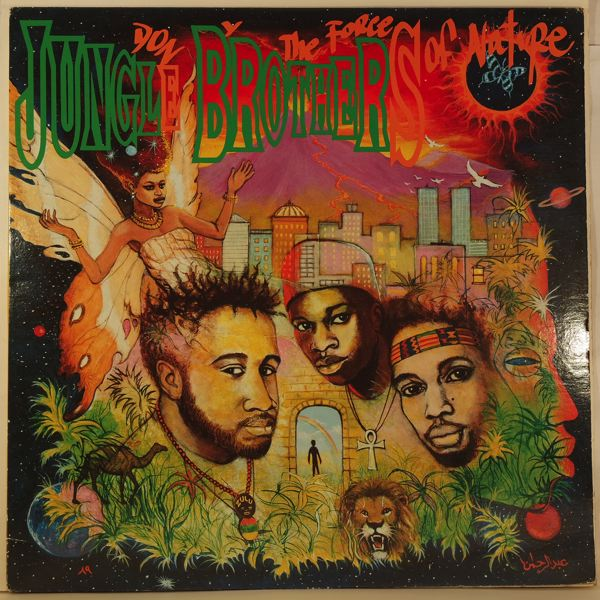 JUNGLE BROTHERS - Done By The Force Of Nature - LP