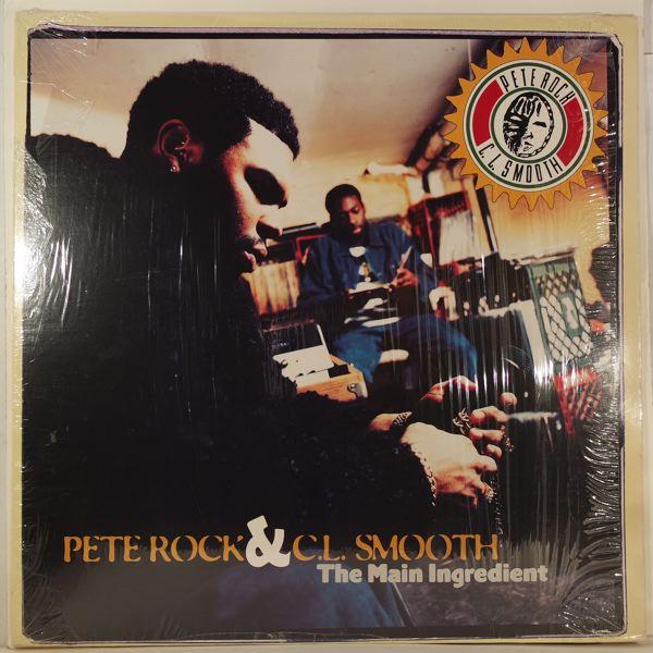 PETE ROCK & C.L. SMOOTH - The Main Ingredient - LP