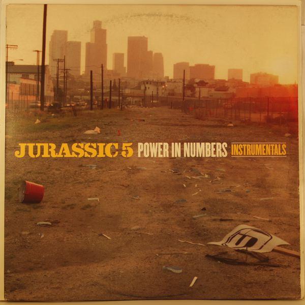 JURASSIC 5 - Power In Numbers Intrumentals - LP x 2