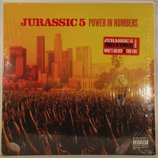 JURASSIC 5 - Power In Numbers - LP x 2
