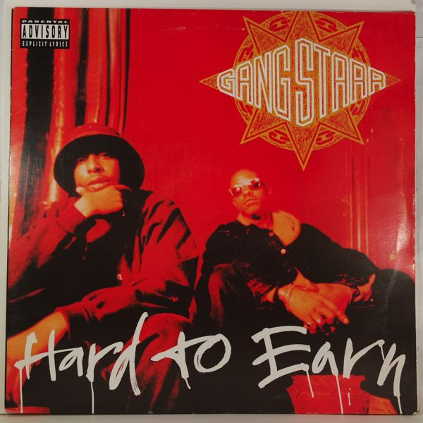 GANG STARR - Hard To Earn - LP x 2