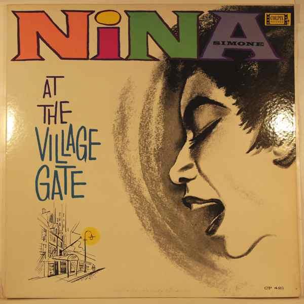 NINA SIMONE - Nina At The Village Gate - LP