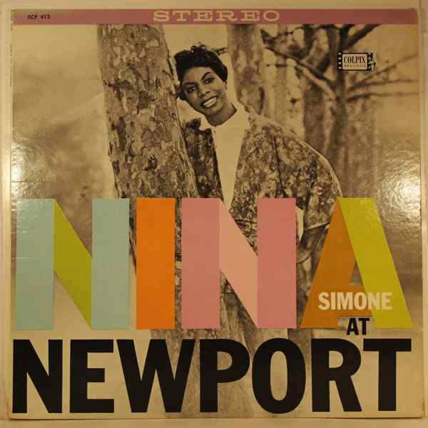 NINA SIMONE - Nina At Newport - LP