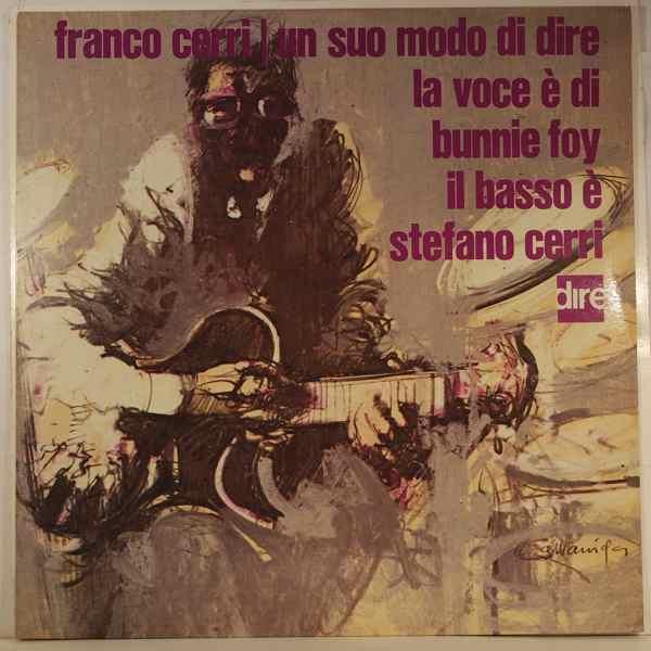 FRANCO CERRI - Un Suo Modo De Dire - LP