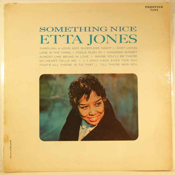 ETTA JONES - Something Nice - LP