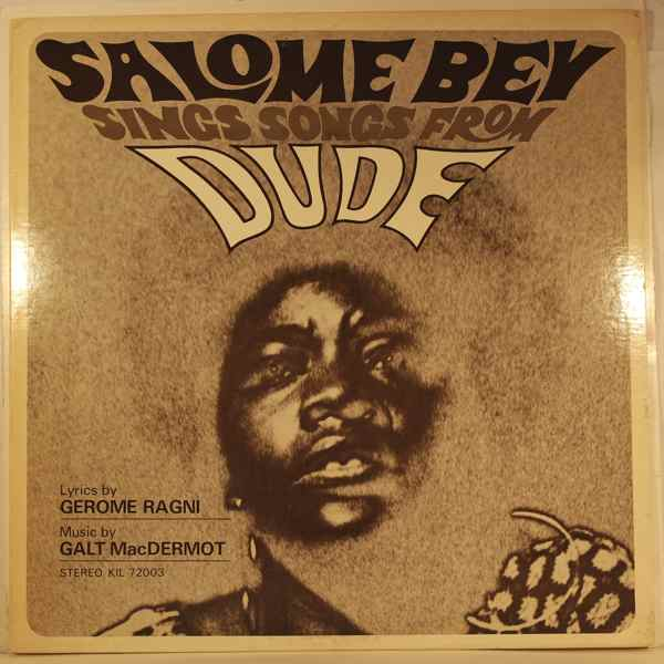 SALOME BEY - Sings Songs From Dude - LP