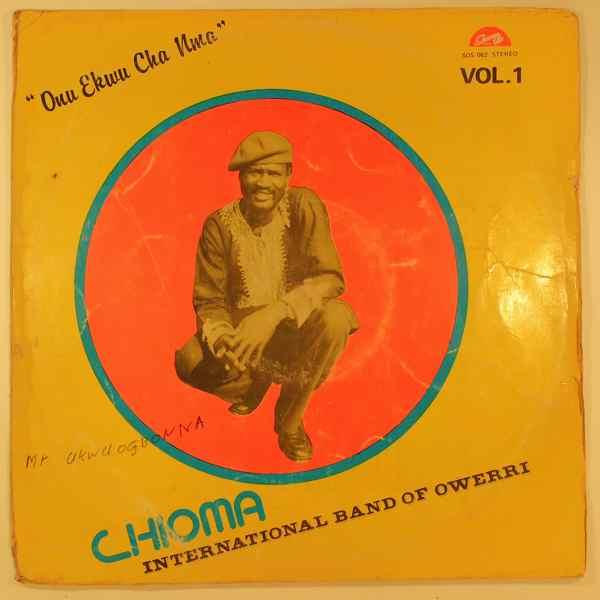 CHIOMA INTERNATIONAL BAND OF OWERRI - Onu Ekwu Cha Mma - LP