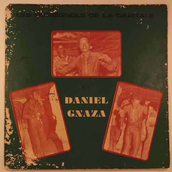DANIEL GNAZA - Les rossignols de la capitale - LP