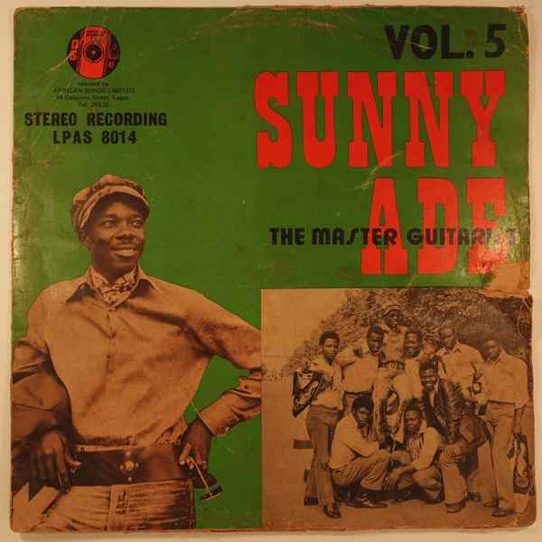 SUNNY ADE - Vol.5 - LP