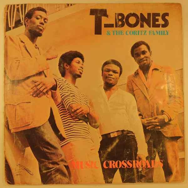 T-BONES & THE CORITZ FAMILY - Music crossroads - LP