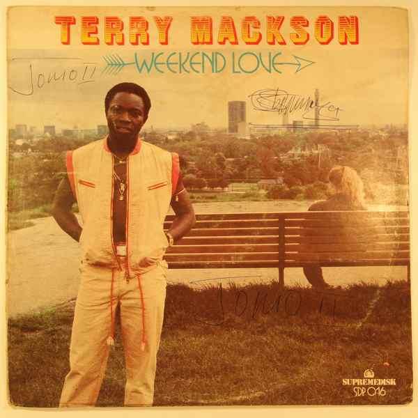 TERRY MACKSON - Weekend love - LP