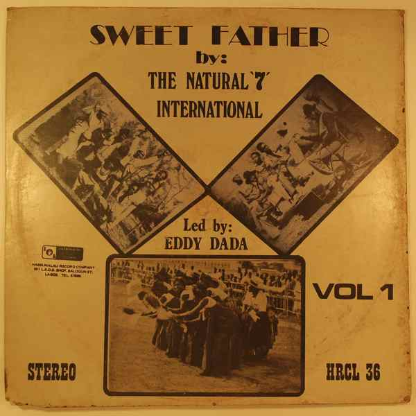 THE NATURAL 7 INTERNATIONAL - Sweet father - LP