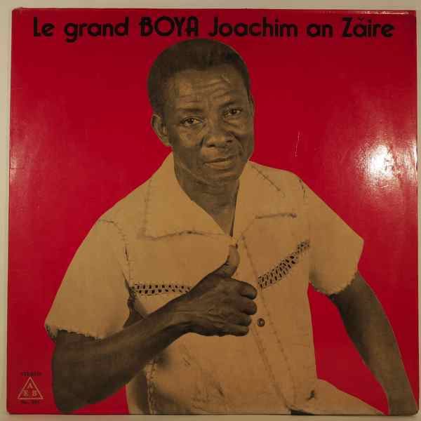 BOYA JOACHIM - Au Zaire - LP