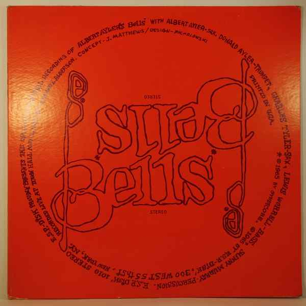 ALBERT AYLER - Bells - LP