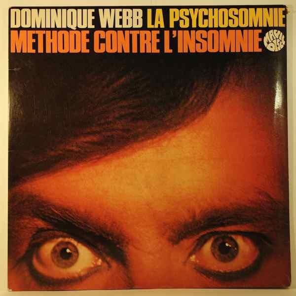 DOMINIQUE WEBB - La Psychosomnie - 33T