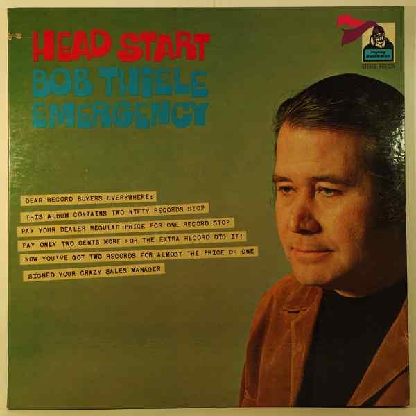 BOB THIELE EMERGENCY - Head Start - LP x 2