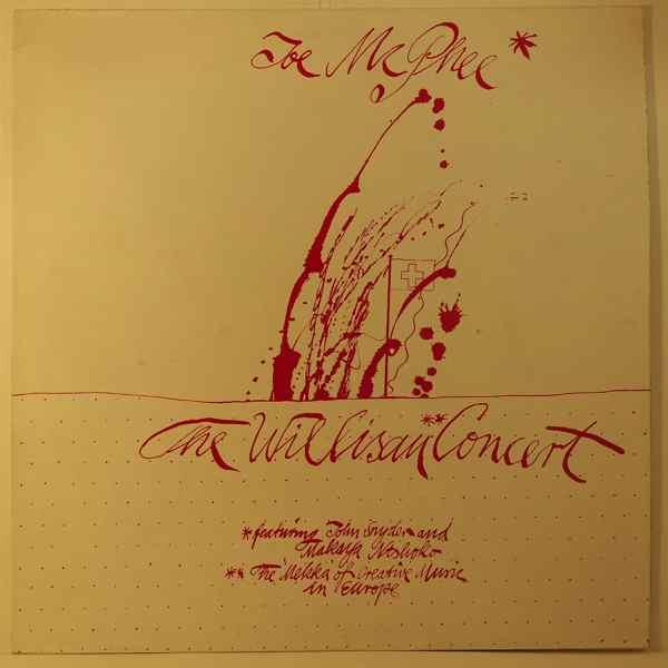 JOE MCPHEE - The Willisau Concert - LP