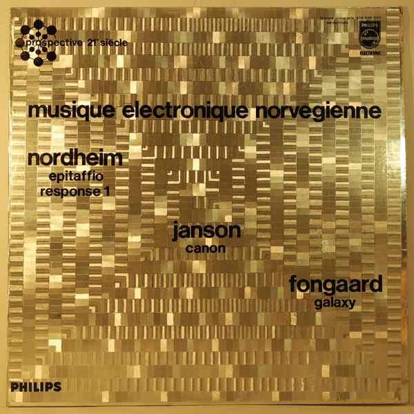 VARIOUS - Musique Electronique Norvegienne - LP