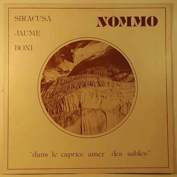 JAUME, BONI, SYRACUSA - Nommo - LP