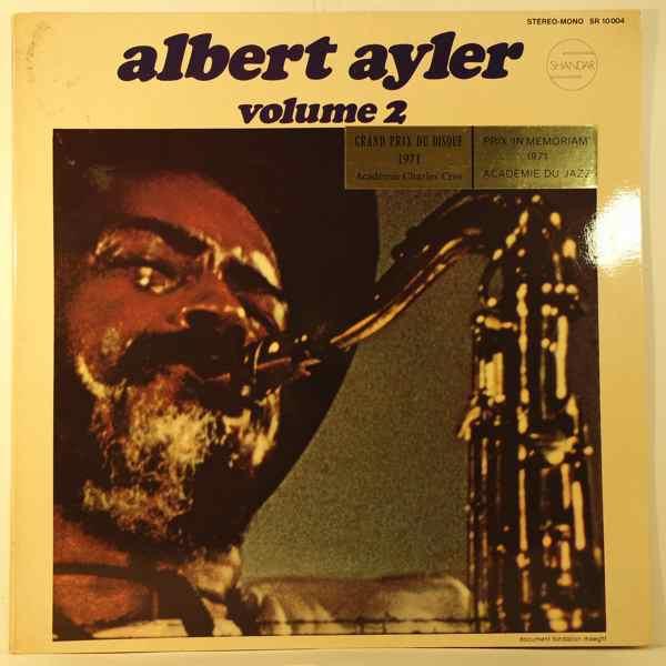 ALBERT AYLER - Nuits De La Fondation Maeght Volume 2 - LP
