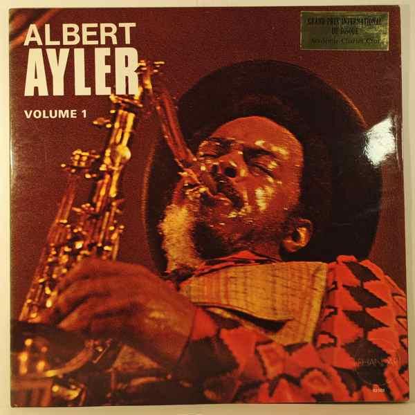 ALBERT AYLER - Nuits De La Fondation Maeght Volume 1 - LP