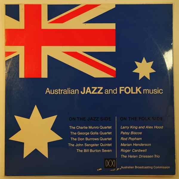 VARIOUS - Australian Jazz And Folk Music - LP