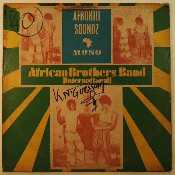 AFRICAN BROTHER'S BAND - Afrohili soundz - 33T