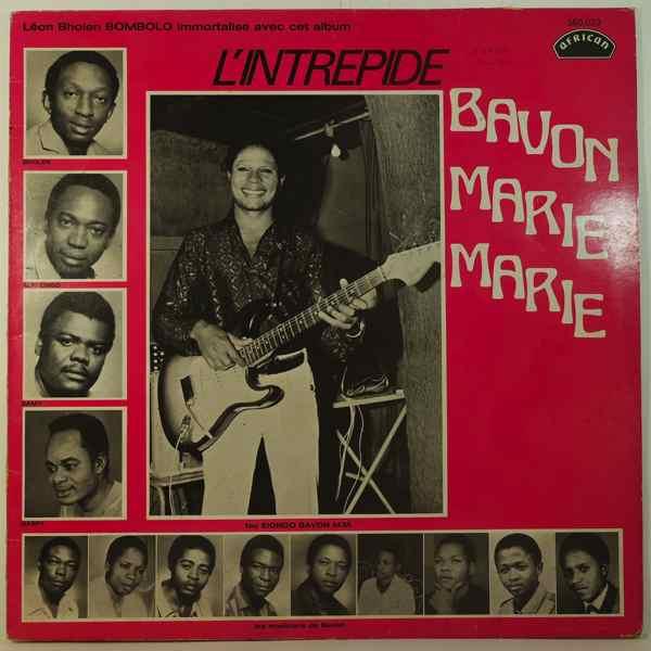 BAVON MARIE MARIE - L'Intrepide Bavon Marie Marie - LP