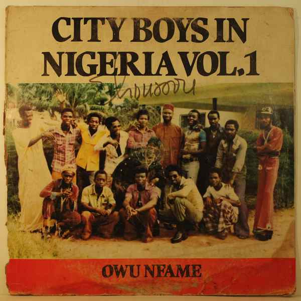 CITY BOYS BAND OF GHANA - In Nigeria Vol. 1 - 33T