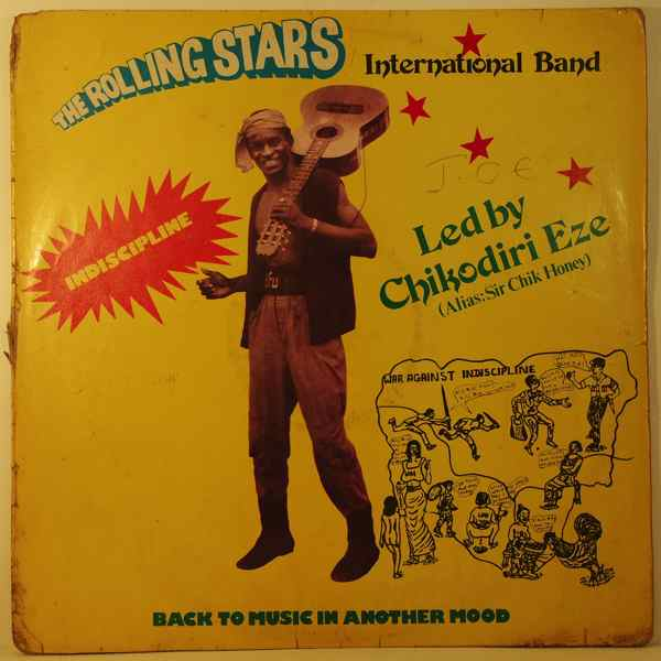 THE ROLLING STARS INTERNATIONAL BAND - Indiscipline - 33T
