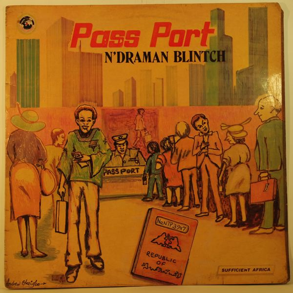 N'DRAMAN BLINTCH - Pass port - 33T