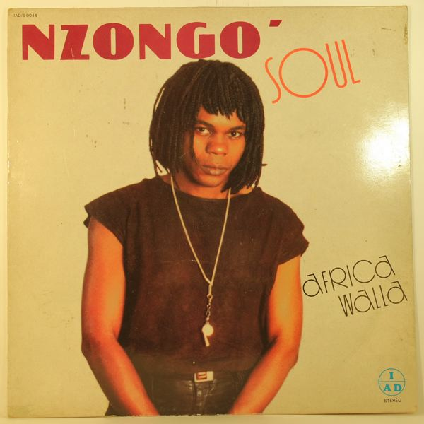 NZONGO SOUL - Africa walla - 33T