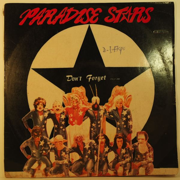 PARADISE STARS - Don't forget - 33T