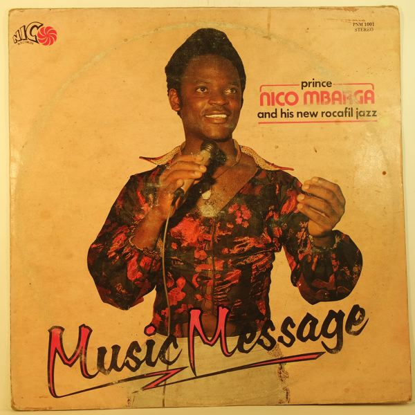 PRINCE NICO MBARGA - Music message - 33T