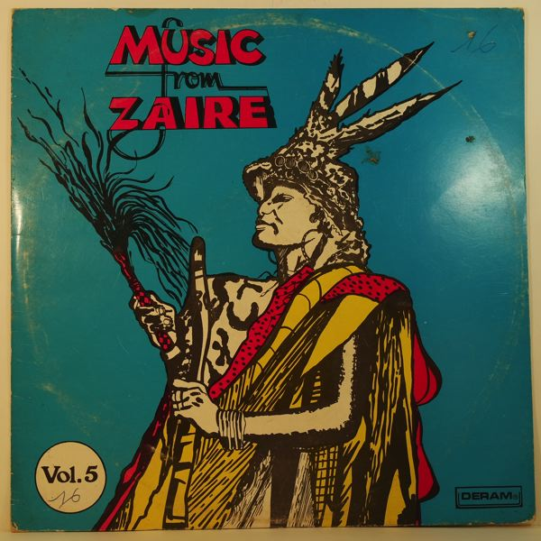 VARIOUS - Music from Zaire vol.5 - 33T