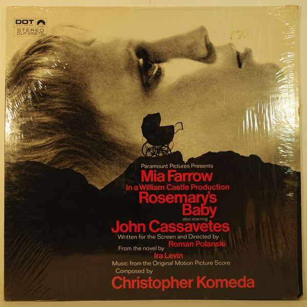 CHRISTOPHER KOMEDA - Rosemary's Baby - LP