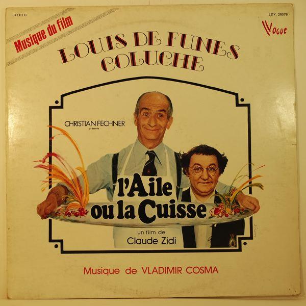 VLADIMIR COSMA - L'Aile Ou La Cuisse - LP