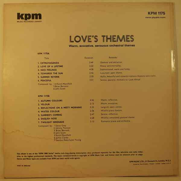 Various Love's Themes