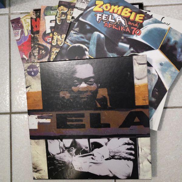 FELA ANIKULAPO KUTI - Box Set 4 - LP x 6