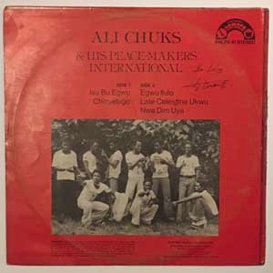 Ali Chuks & His Peace Makers Dance Band Same
