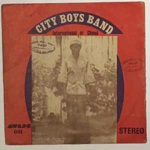 CITY BOYS BAND - Aka Menkoaa - LP