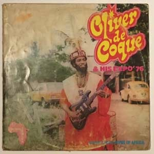 OLIVER DE COQUE AND HIS EXPO 76 - I salute Africa - LP
