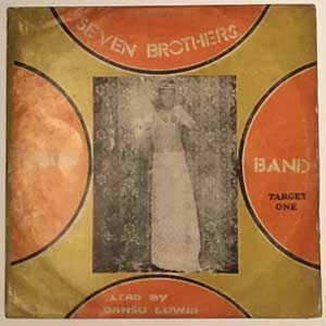 SEVEN BROTHERS EGUN BAND - Target one - LP