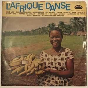 VARIOUS - L'afrique danse N¡2 - LP