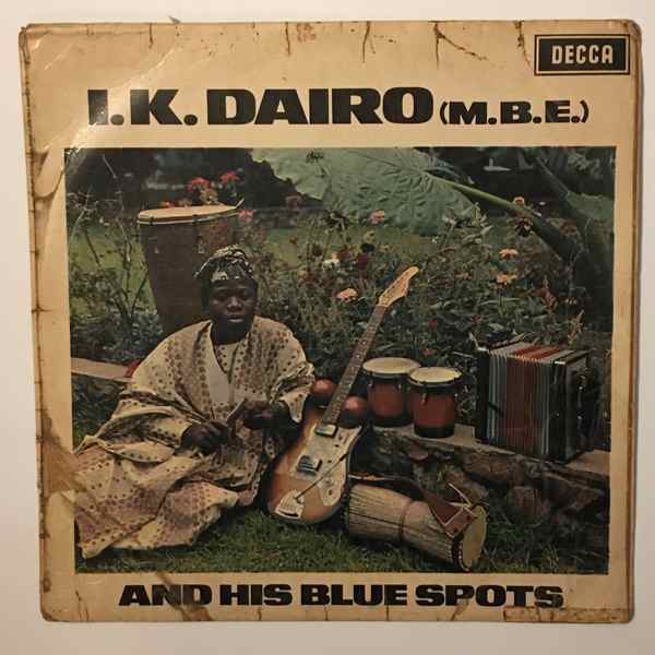 I.K. DAIRO & HIS BLUE SPOTS - Same - LP