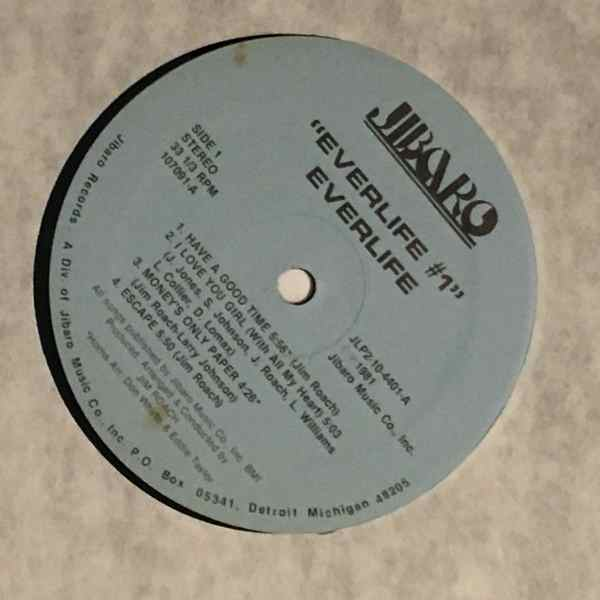 EVERLIFE - #1 - LP