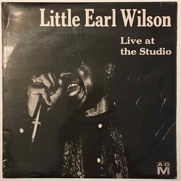 LITTLE EARL WILSON - Live at the studio - LP