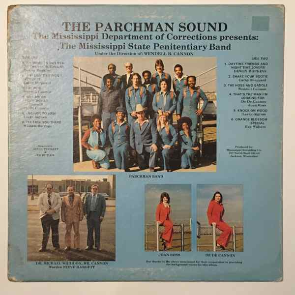 THE MISSISSIPPI STATE PENITENTIARY BAND - The Parchman Sound - LP