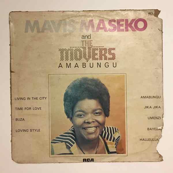 MAVIS MASEKO  & THE MOVERS - Amabungu - LP