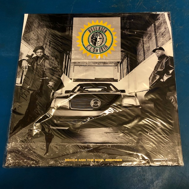 PETE ROCK & C.L. SMOOTH - Mecca & The Soul Brother - LP x 2